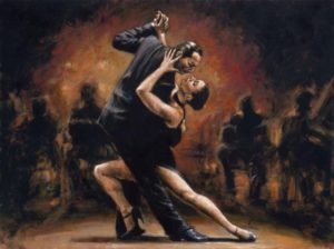 история танго