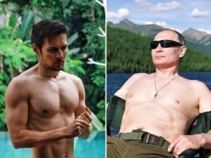 PutinShirtlessChallenge