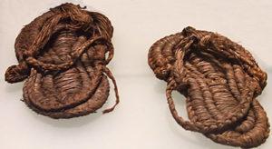 древние сандалии