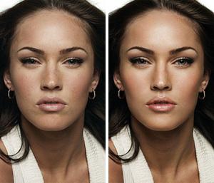 Меган Фокс: до и после фотошопа