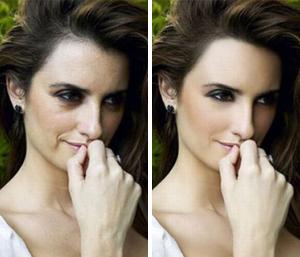 Пенелопа Крус: до и после фотошопа
