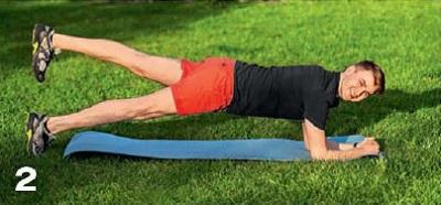 планка упражнение 2