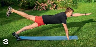 планка упражнение 3