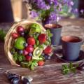 букет +из фруктов своими руками фото