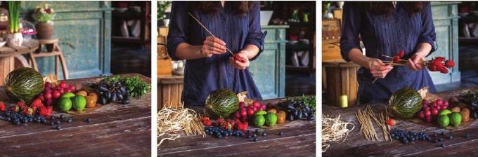 букет +из фруктов +своими руками пошаговое фото