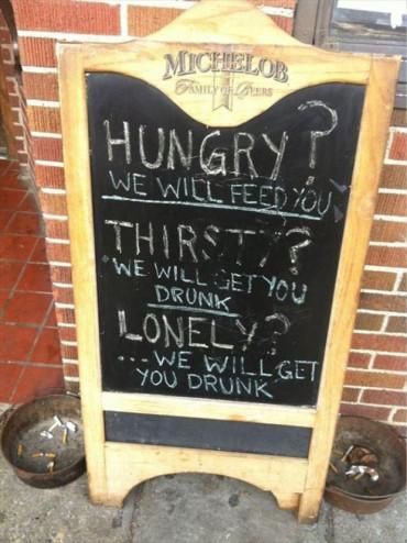 кафе бар реклама