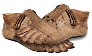древнегреческие сандалии