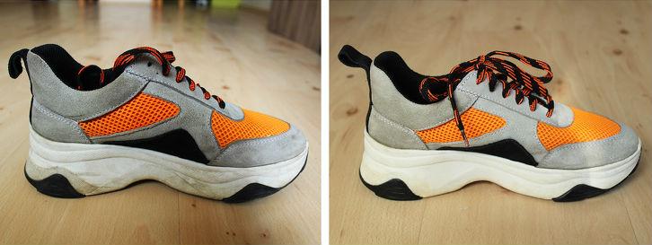 как спасти замшевую обувь